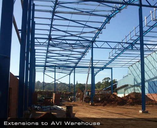 Extensions to AVI Warehouse