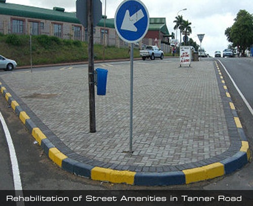Rehabilitation of Street Amenities in Tanner Road